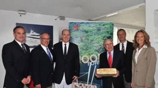 Burger Boat Company joins the Prince Albert II of Monaco