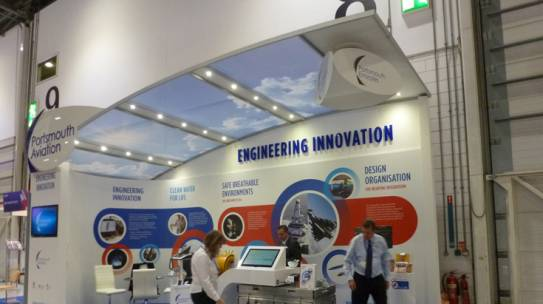 Oxygen at the Security and Defence Show