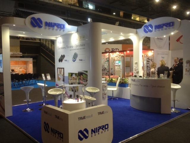 Nipro Diagnostics at Diabetes UK, Liverpool | Oxygen Exhibitions