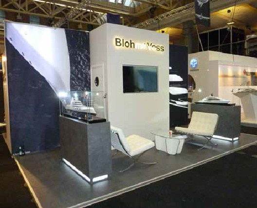 Exhibition Stand Design Case Studies : Blohm and voss case study exhibitions stand oxygen