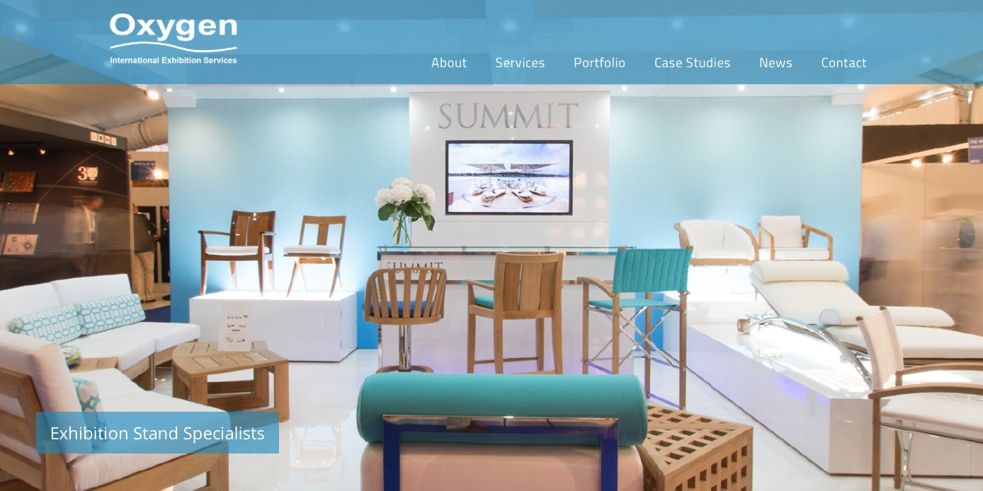 International exhibition stand contractor launches new website in 2017